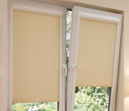 Рулонные жалюзи на пластиковые окна роллайт